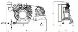 Схема  AB25-380